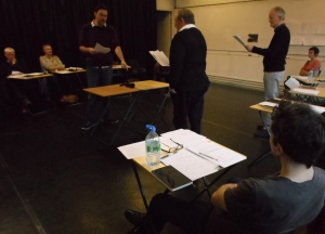 Workshop with actors 1