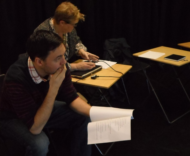 Workshop with actors 3