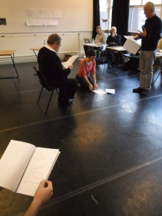 Workshop with actors 4